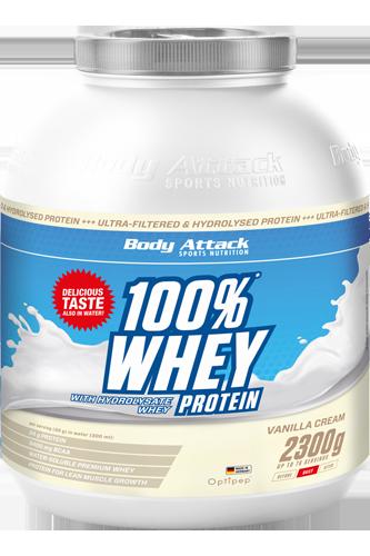 100% Whey Protein - 2,3kg